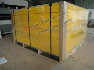 UHMWPE Sheet with Export Wooden Pallet pictures & photos