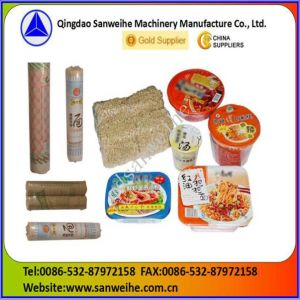 Swf-590 Aerosol Cans Shrink Packing Machine pictures & photos