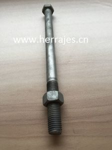 Machine Bolts, Overhead Line Fittings, Hex Head Bolts, 3/4 pictures & photos