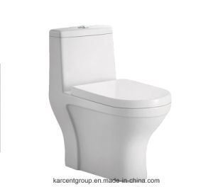 One Piece Toilet Siphonic Toilet Water Closet Wc 8004