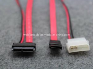 SATA to Mini SATA Data Sync Power Convert Cable pictures & photos