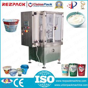 Yogurt Cup Filling Sealing Machine (RZ-R) pictures & photos