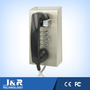 Vandal Resistant Intercom Emergency Telephone with Handset and Metal Keypad pictures & photos