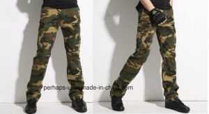 Cools Mens Camo Print Cargo Pants pictures & photos