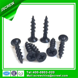 3.5mm Bugle Head Black Drywall Screws for Wood pictures & photos