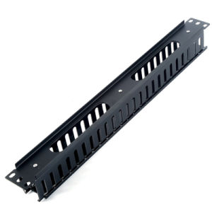 1u 19 Inch Rack Mount Horizontal Cable Manager for Wiring pictures & photos