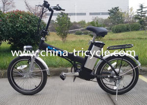 250W Brushless Motor 16 Inch Lithium Electric Bike (SP-EB-02) pictures & photos