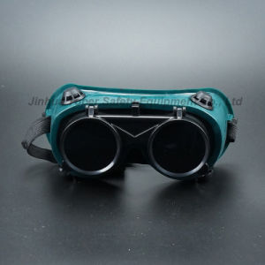 50mm Round Lens Indirect Vents Welding Goggles (WG113) pictures & photos