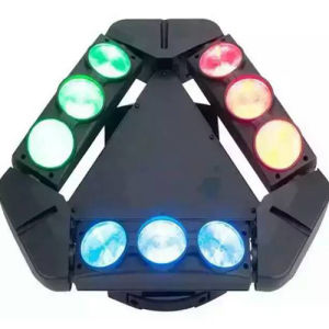 High Power 9 Eyes 9X10W LED Beam Moving Head LED Spider Light LED Stage Lighting pictures & photos
