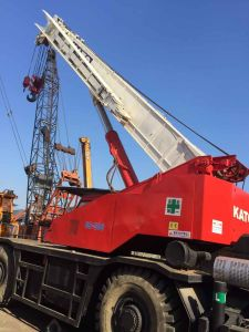 Used Kato 50t Rough Terrain Crane Ss500 pictures & photos