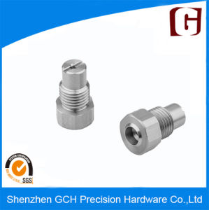 Stainless Steel Fitting Thread High Precision CNC Machining Hardware