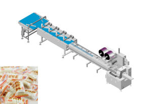 Candy Automatic High Speed Packing Production Line pictures & photos