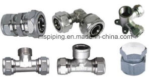 Brass Compression Fitting for Water/ Gas pictures & photos