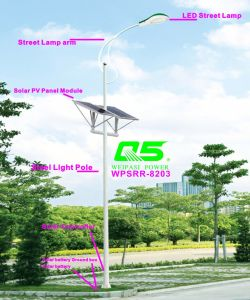 WPSRR-8203 3~15m Municipal Road Hot DIP Galvanized Steet Light Pole style pictures & photos