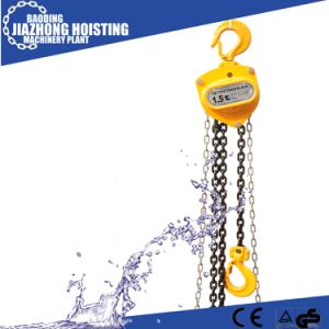 Hscb 10ton 6 Meter Manual Chain Block Hoist pictures & photos