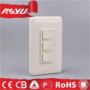 Micro Electrical Push Button Wall Switch with 40000 Lifetime pictures & photos
