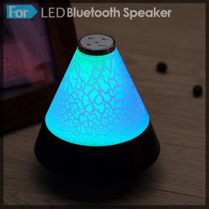 Mini MP3 LED Light Handsfree Stereo Speaker Loudspeaker pictures & photos