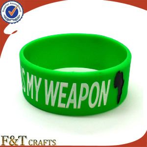 Promotional Silicon Bracelet Engrav Print From China pictures & photos