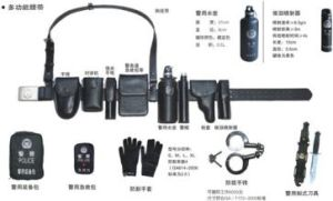 Black Nylon Duty Police Tactical Belt pictures & photos