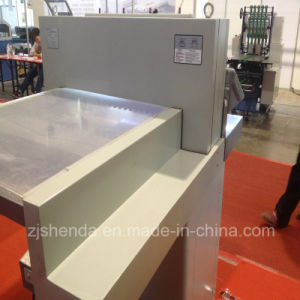 670mm Double Hydraulic Stainless Steel Button Paper Cutting Machine pictures & photos