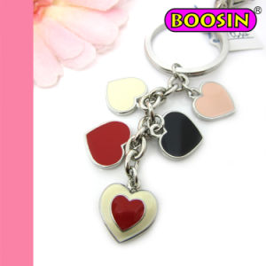 Heart Shaped Hot Sale Custom Metal Keychain Factory Wholesale pictures & photos