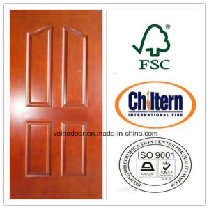 Natural Timber Exterior/ Interior Door/ Solid Wood Door for Apartment pictures & photos