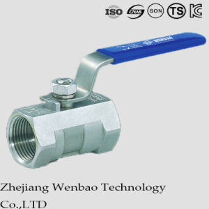 Fully Port Carbon Steel Casting Ball Valve with Manul Handle pictures & photos