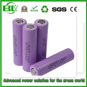 LG 3.7V 2200mAh 18650 Battery 10A Discharge Current 18650mf1 pictures & photos