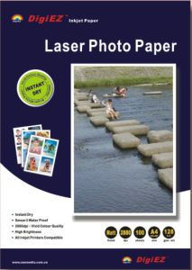 Double Sided High Glossy Laser Photo Paper pictures & photos