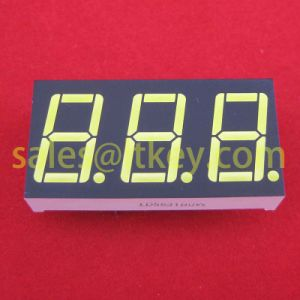 0.56 Inch 3 Digits 7 Segment LED Display with Common Font pictures & photos