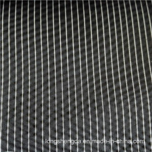 40d Woven Twill Plaid Plain Check Oxford Outdoor Jacquard 91% Nylon + 9% Polyester Fabric (H019B) pictures & photos