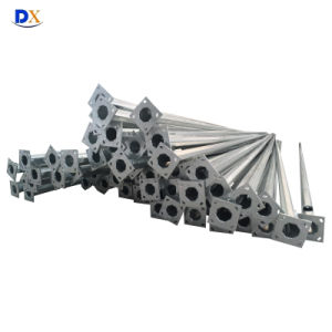 11m Hot Deep Galvanized Octagonal Steel Pole pictures & photos