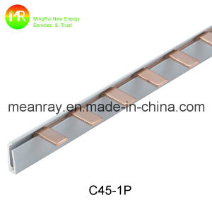 High Quality Pin Type 3p Electrical Comb Busbar 100A pictures & photos