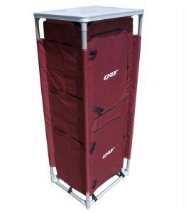 Storage Closet Portable Wardrobe Storage Organizer Clothes Closet Sturdy Multi-Layer Cabinet