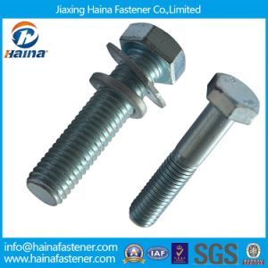 Zinc Coated DIN934 Hex Bolt and Nut pictures & photos