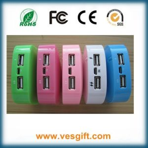 Hot Sell Colorful Power Bank with RoHS pictures & photos