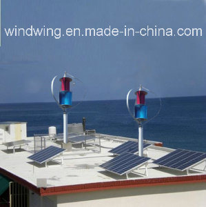 600W Maglev Windmill Generator and Solar Panel for Home Use pictures & photos
