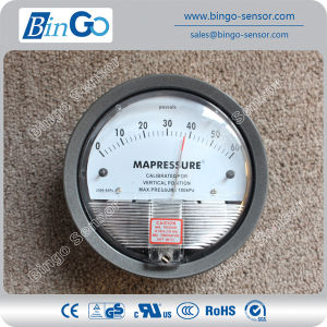 Micro Differential Pressure Gauge for Gas pictures & photos