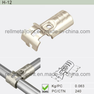 Nickel Plated Lean Pipe Clamp for Lean Manufacturing (H-12) pictures & photos