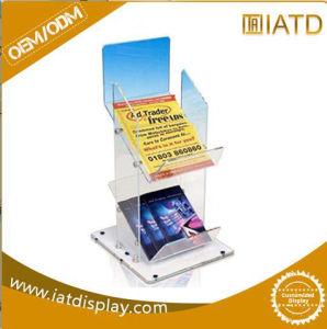 Custom Clear Acrylic Table Plastic Display Brochure Holder pictures & photos