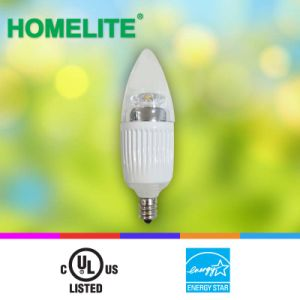 LED Candle Light 5W 2700k Dimmble with Es/UL Listed