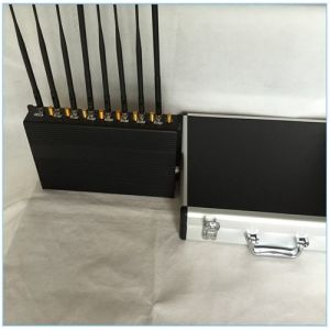 Powerful Cellphone/GPS/4G/WiFi Signal Jammer, Mobile Phone Signal Jammer/Signal Mobile Blocker with Portable Cases pictures & photos
