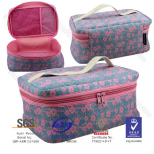 Larger Size Heat Transfer Printing Lunch Bag Mesh Bag Cosmetic Bag pictures & photos