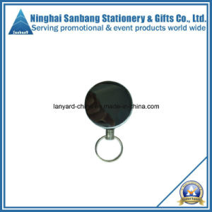Promotion Metal Badge Reel with Printed Logo (EJ-3108)