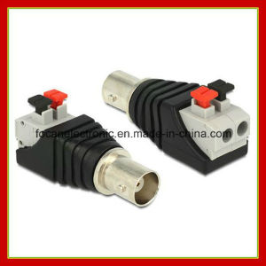 Quick Use CCTV Cable BNC Female Pressed Plug Connector Adapter pictures & photos