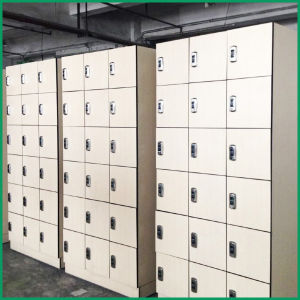 Fumeihua White Laminate Fitness Clothes Locker Room pictures & photos