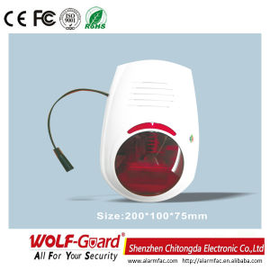 Af Outdoor 120db Flash and Sound Wired& Wireless Alarm Siren pictures & photos