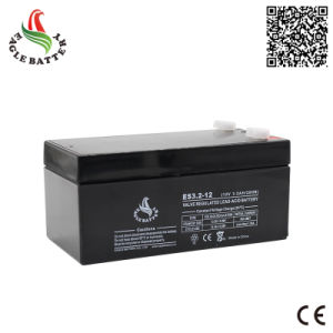 12V 3.2ah AGM Rechargeable Lead Acid Battery for UPS pictures & photos