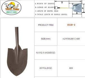Construction Types of Spade Shovel with Handle, Farm Shovel pictures & photos