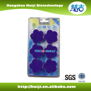 New Formula Antibacterial Blue Bubble Toilet Block pictures & photos
